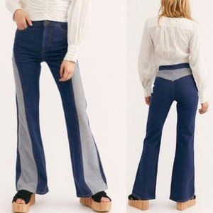 Free People Flip It and Reverse It Flare Jeans 31
